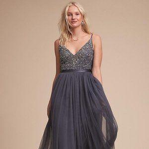 BHLDN Anthropologie Avery Dress (Hydrangea)